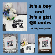 QR Codes-It's a boy AND It's a girl HL5704 embroidery file