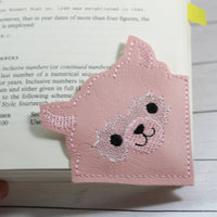 DBB Alpaca Corner Bookmark Design