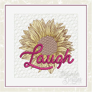 TD - Sunflower Laugh Quilt Block