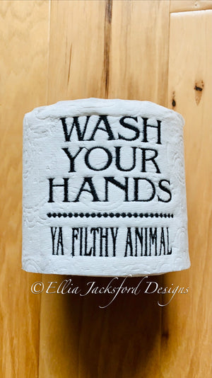 EJD  Filthy Animal Toilet Paper design
