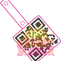 HL ITH QR Rick Rolled Fobs HL5786 embroidery files