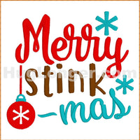 Merry Stinkmas TP HL2387 embroidery file