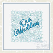 TD - Our Wedding Quilt Block