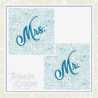 TD - Mr and Mrs Quilt Block