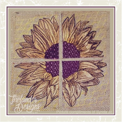 TD - Sunflower Panels Quilt Blocks