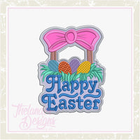 TD - Happy Easter  Door Hanger