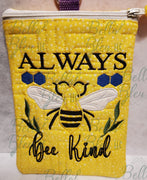 BBE Always Bee Kind Applique saying
