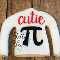 "BBE -  ITH Elf ""Cutie Pi"" sweater shirt"