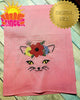 Embroidered Cat With Flowers HL5790 embroidery files