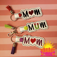 HL ITH Mom Heart and Mum Flower Fobs HL6064