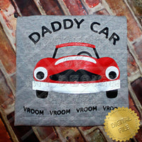 MDH Daddy Car VROOM SVG