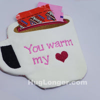 ITH Coffee Tea Cup HL2008 embroidery file Card Gift in the hoop