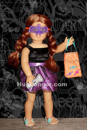 ITH 18 inch Doll Halloween set HL2064 embroidery files
