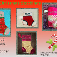 HL ITH Christmas Stocking embroidery file
