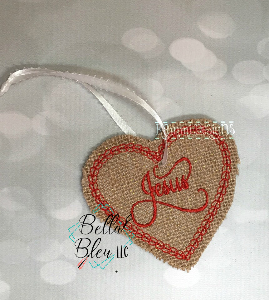 BBE -  ITH Religious Jesus Ornament Machine Embroidery Design