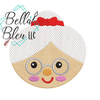 BBE - Sketchy Mrs Claus Christmas Design