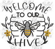 BBE Welcome to our Hive sketchy