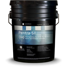 Load image into Gallery viewer, Black 5 gallon bucket labeled Pentra-Sil IH