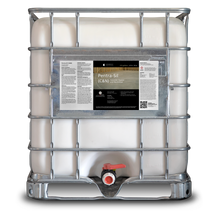 Load image into Gallery viewer, 275 gallon tote labeled Pentra-Sil C and N
