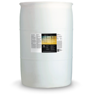 White 55 gallon drum labeled Pentra-Sil HDS