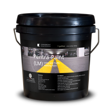 Load image into Gallery viewer, Black 1 gallon small pail labeled Pentra-Paint LM