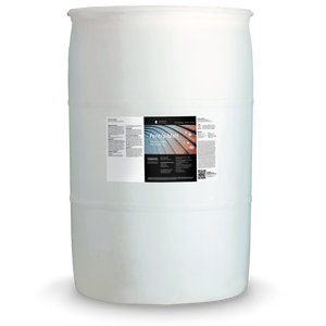White 55 gallon drum labeled Pentra-Melt