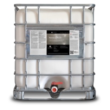 Load image into Gallery viewer, 275 gallon tote labeled Pentra PCF