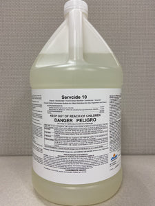 Servcide 10 | Disinfectant, Sanitizer Spray | Concentrate