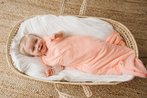 Sleep Bag in Peach 0.5