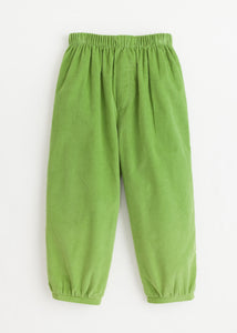 Banded Pull on Pant - Sage Green Corduroy