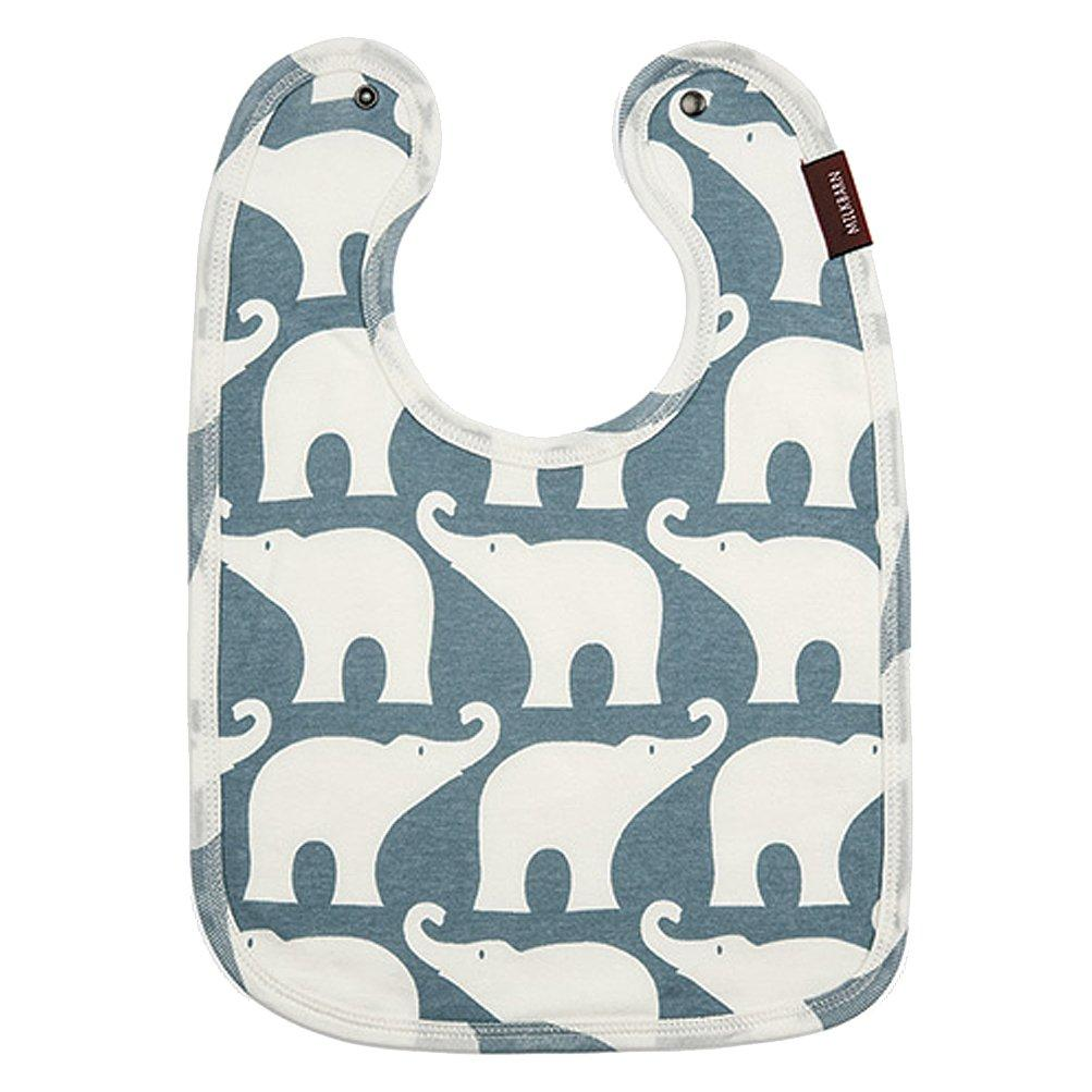 Traditional Bib - Blue Elephant