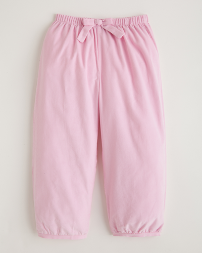 Banded Bow Pant - Light Pink Corduroy