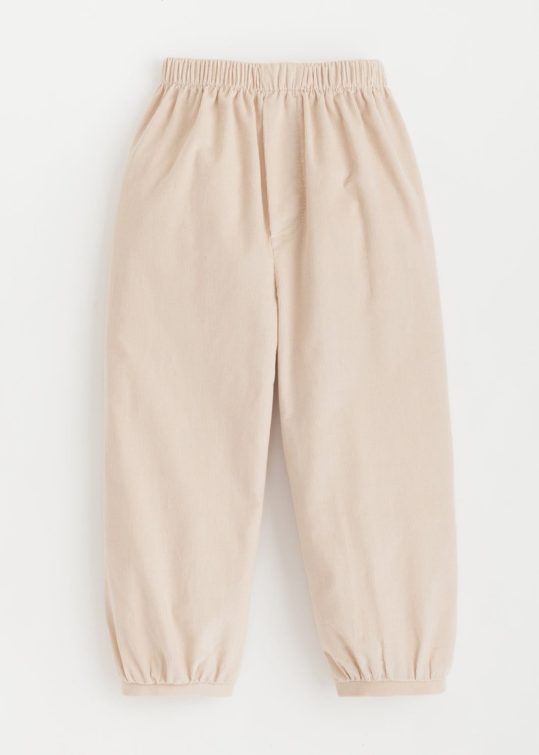 Banded Pull on Pant - Tan Corduroy