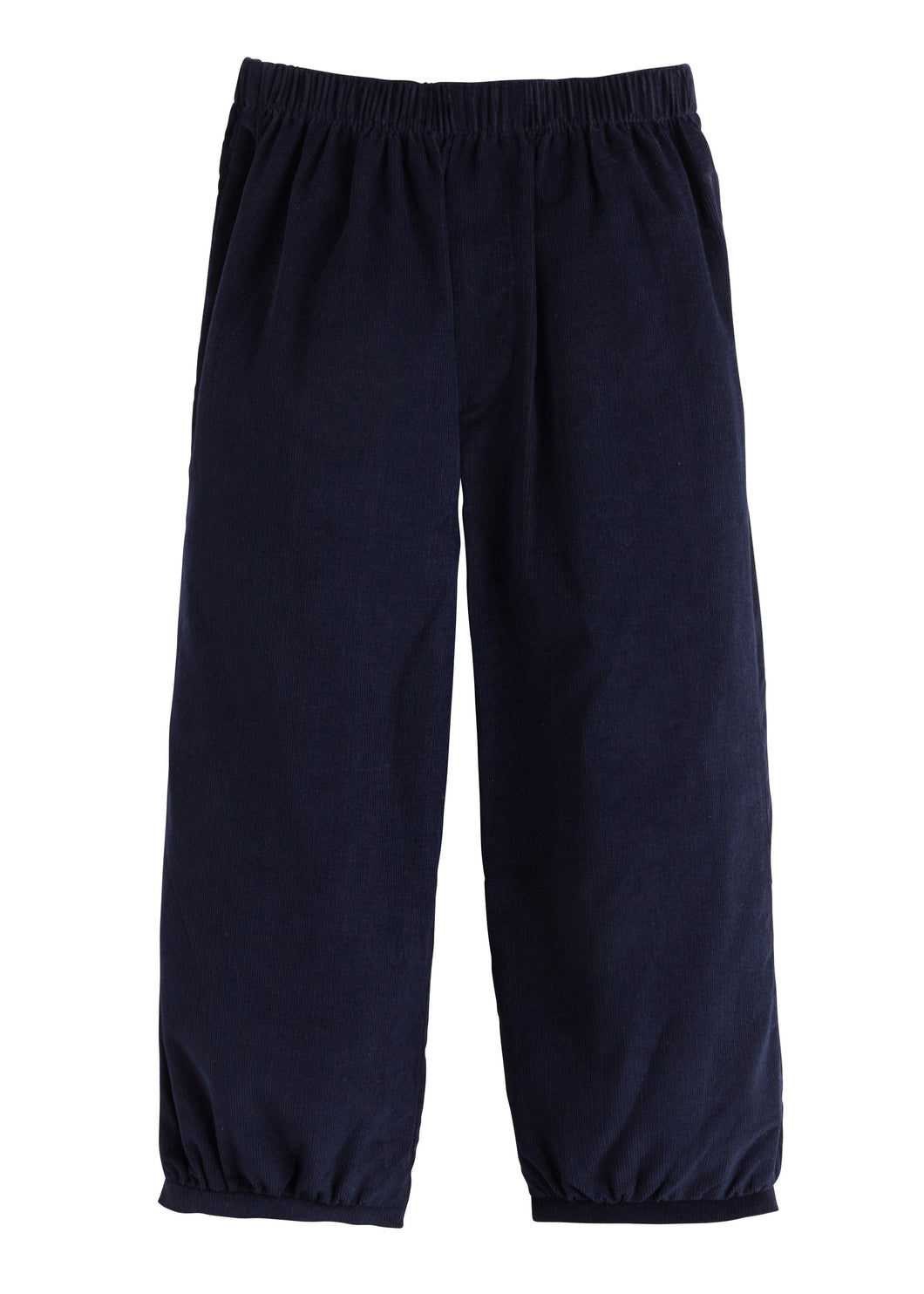 Banded Pull on Pant - Navy Corduroy