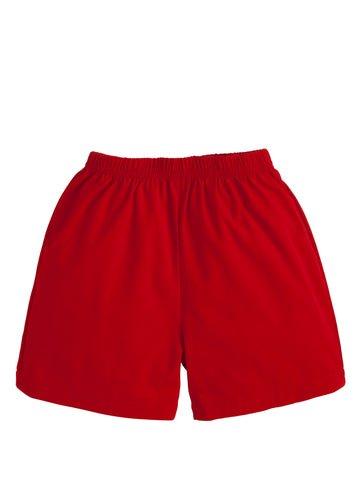Basic Short - Red Twill