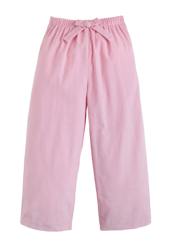 Bow Pant - Light Pink Corduroy