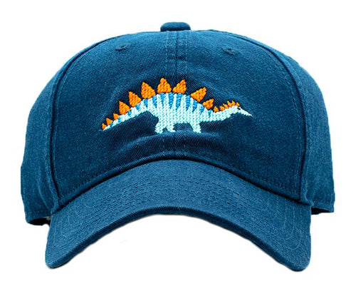 Stegosaurus on Navy Kids Hat