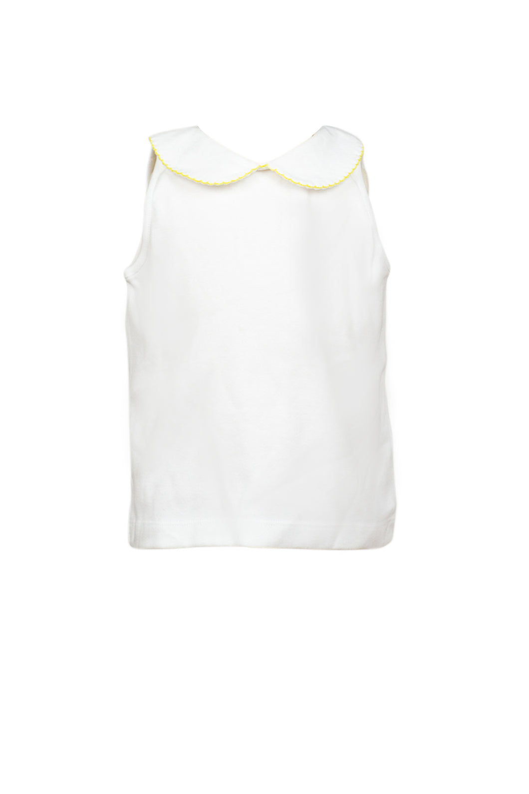 Proper Sleeveless Knit Shirt - Yellow