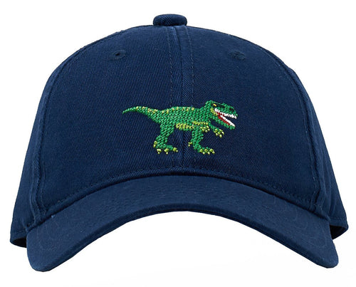 T-Rex on Navy Kids Hat