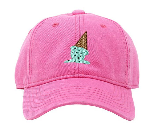 Ice Cream on Bright Pink Kids Hat