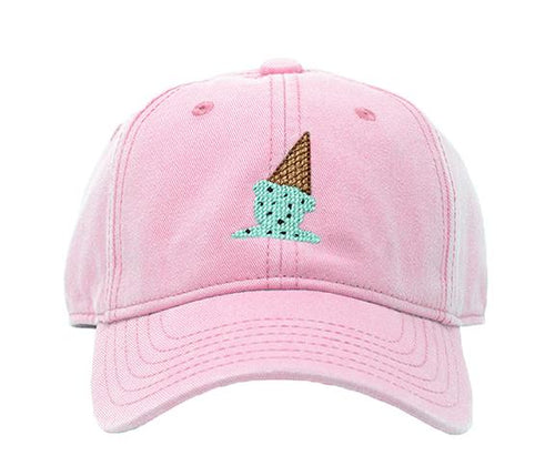 Ice Cream on Light Pink Kids Hat
