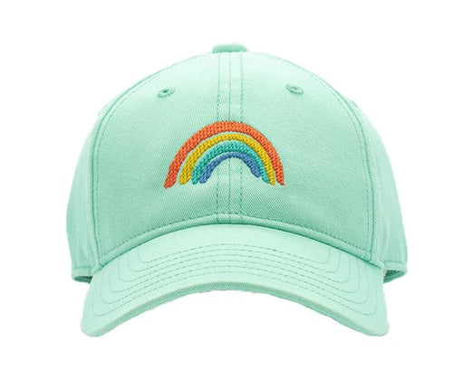 Rainbow on Keys Green Kids Hat
