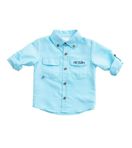 Solid Fishing Shirt - Castaway