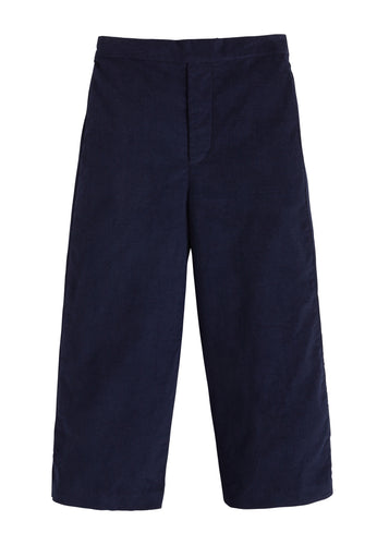 Pull on Pant - Navy Corduroy