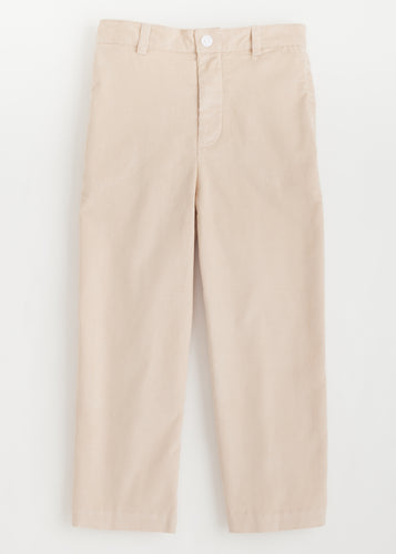 Pull on Pant - Tan Corduroy