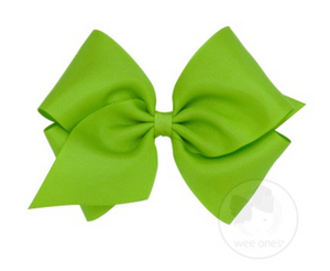 Apple Green Grosgrain Bow