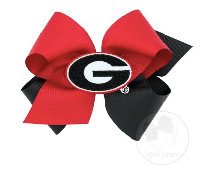 University of Georgia Two Tone Bow