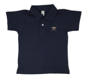Baseball Polo - Navy