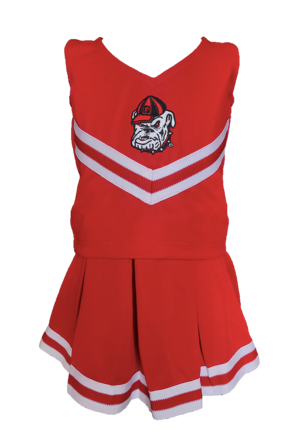 Cheerleader Set - UGA