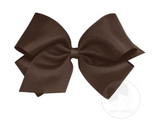 Spice Brown Grosgrain Bow